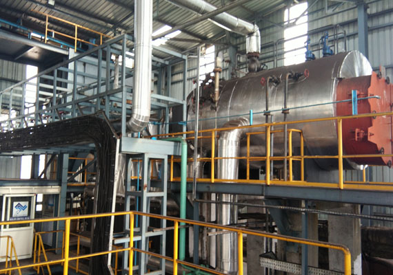 A thermic fluid heater is industrial heating equipment, used where only heat transfers are desired instead of pressure.
